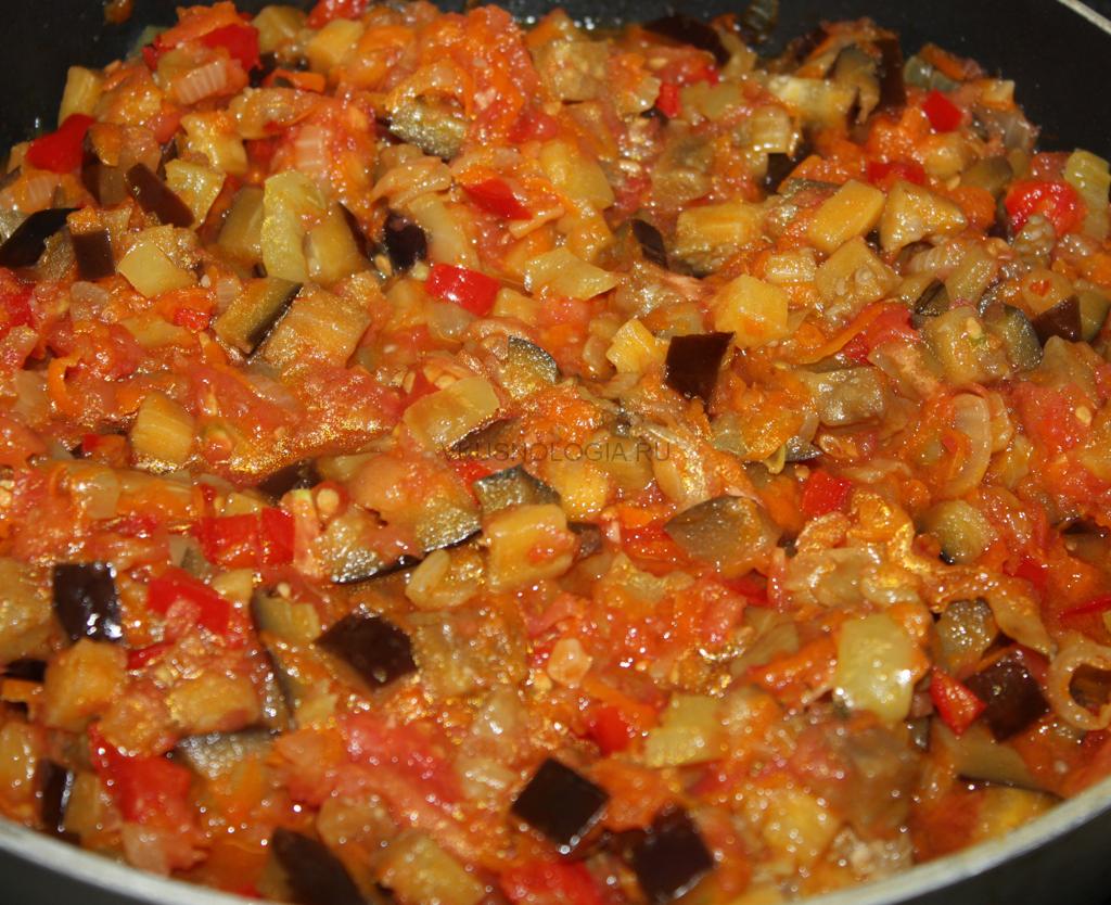 рецепт икры из баклажанов жареная с фото
